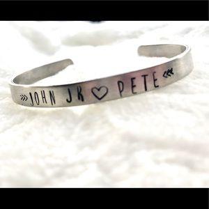 Custom Children Names Cuff Bracelet